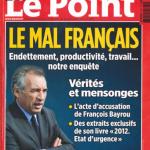 Couverture Bayrou Le Point
